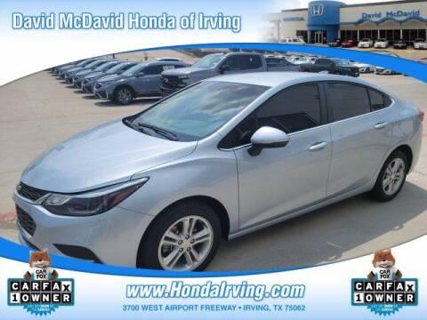 2018 Chevrolet Cruze for sale at DAVID McDAVID HONDA OF IRVING in Irving TX