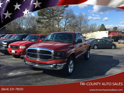 2006 Dodge Ram Pickup 1500 for sale at Tri-County Auto Sales in Pendleton SC