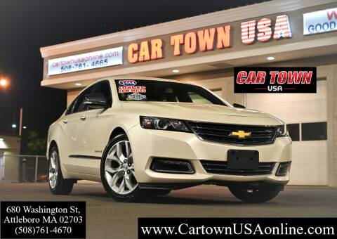 2014 Chevrolet Impala for sale at Car Town USA in Attleboro MA