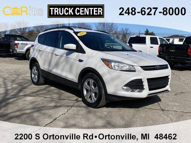 2013 Ford Escape for sale at Carite Truck Center in Ortonville MI