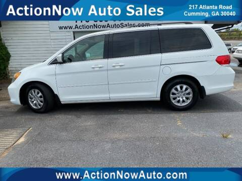 2009 Honda Odyssey for sale at ACTION NOW AUTO SALES in Cumming GA