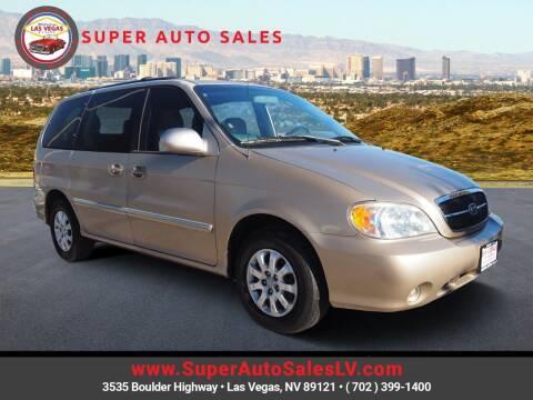 2005 Kia Sedona for sale at Super Auto Sales in Las Vegas NV