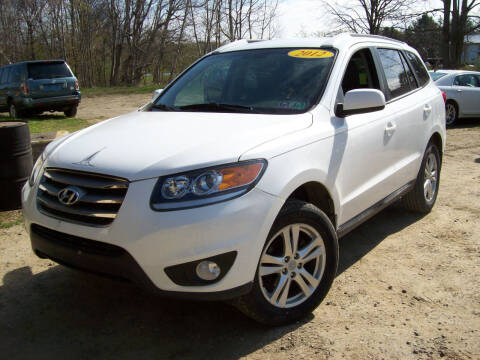 2012 Hyundai Santa Fe for sale at Summit Auto Inc in Waterford PA