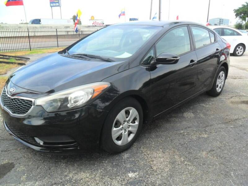2016 Kia Forte for sale at Talisman Motor City in Houston TX