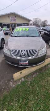 2011 Buick LaCrosse for sale at Chicago Auto Exchange in South Chicago Heights IL