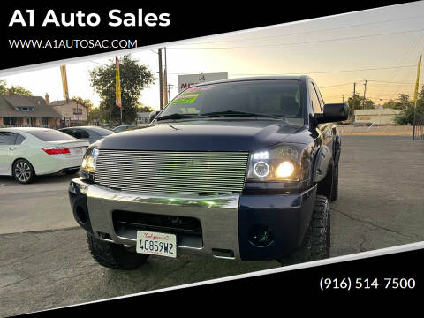 2006 Nissan Titan for sale at A1 Auto Sales in Sacramento CA