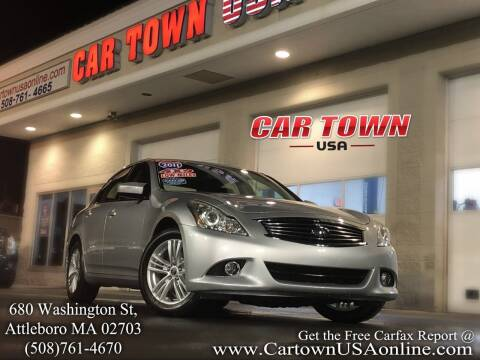 2011 Infiniti G25 Sedan for sale at Car Town USA in Attleboro MA