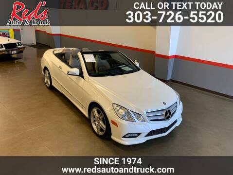 2011 Mercedes-Benz E-Class for sale at Red's Auto and Truck in Longmont CO