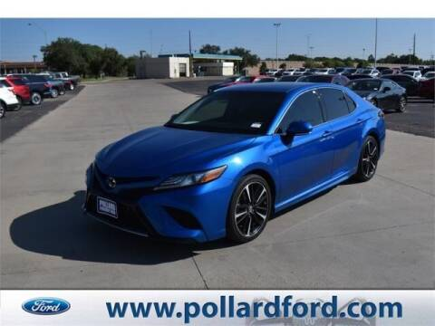 2018 Toyota Camry for sale at South Plains Autoplex by RANDY BUCHANAN in Lubbock TX