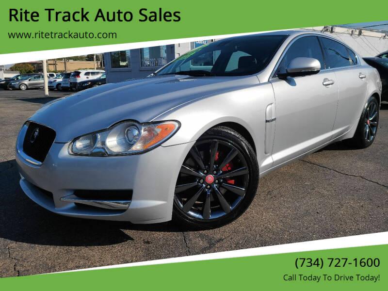 2011 Jaguar XF for sale at Rite Track Auto Sales in Wayne MI
