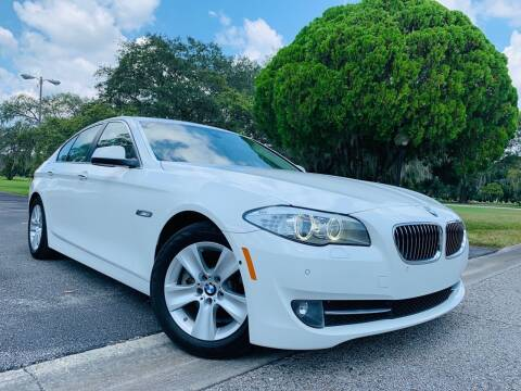 2013 BMW 5 Series for sale at FLORIDA MIDO MOTORS INC in Tampa FL