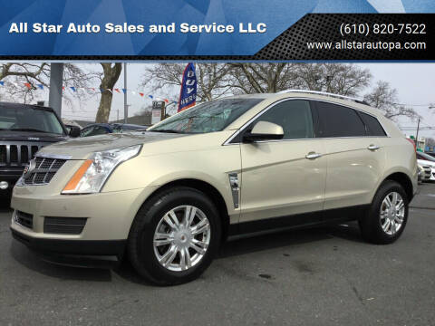2011 Cadillac SRX for sale at All Star Auto Sales and Service LLC in Allentown PA