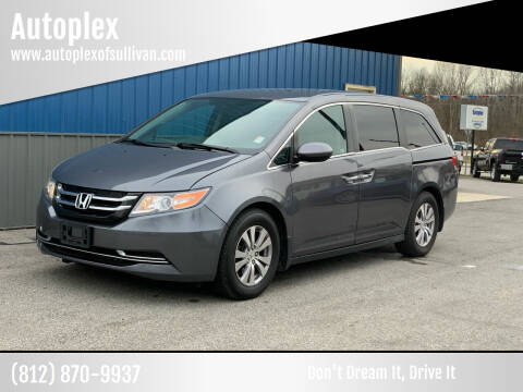2016 Honda Odyssey for sale at Autoplex in Sullivan IN