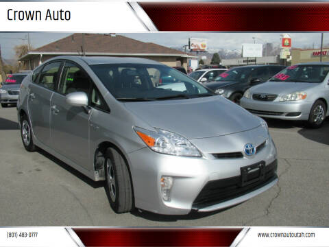 2014 Toyota Prius for sale at Crown Auto in South Salt Lake City UT