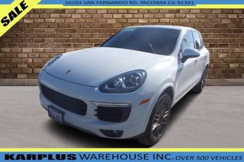 2017 Porsche Cayenne for sale at Karplus Warehouse in Pacoima CA