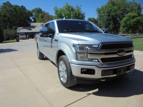 2018 Ford F-150 for sale at D & P Sales LLC in Wichita KS