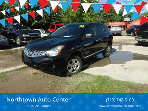 2014 Nissan Rogue Select for sale at Northtown Auto Center in Houston TX