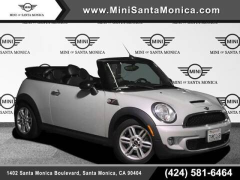 2014 MINI Convertible for sale at MINI OF SANTA MONICA in Santa Monica CA