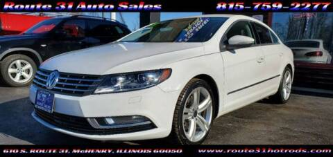 2013 Volkswagen CC for sale at ROUTE 31 AUTO SALES in McHenry IL