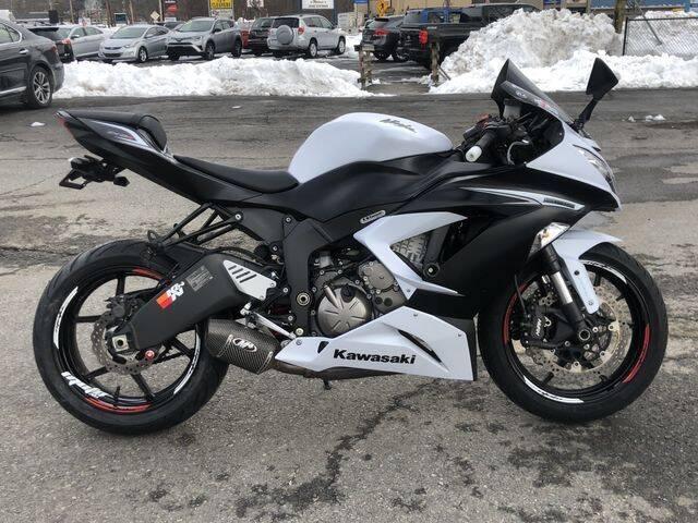 2013 Kawasaki Ninja ZX6R ABS for sale at All Star Auto  Cycle in Marlborough MA