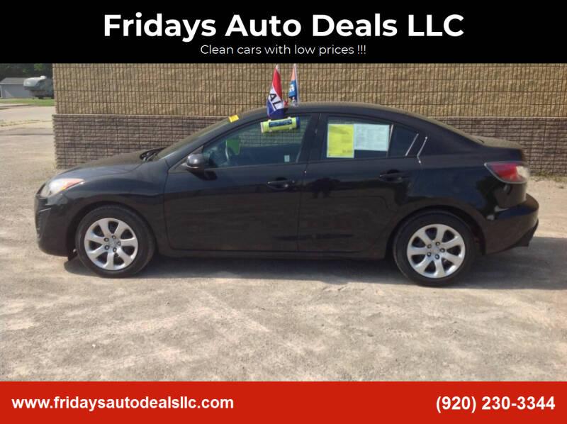 2010 Mazda MAZDA3 for sale at Fridays Auto Deals LLC in Oshkosh WI