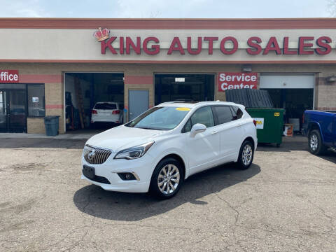 2017 Buick Envision for sale at KING AUTO SALES  II in Detroit MI