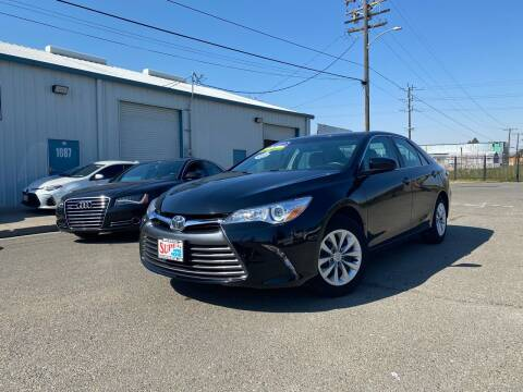 2017 Toyota Camry for sale at SUPER AUTO SALES STOCKTON in Stockton CA