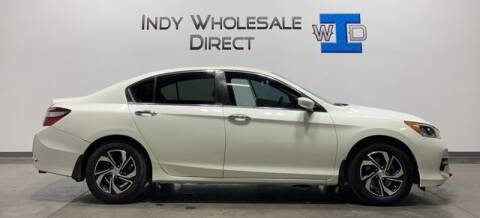 2017 Honda Accord for sale at Indy Wholesale Direct in Carmel IN