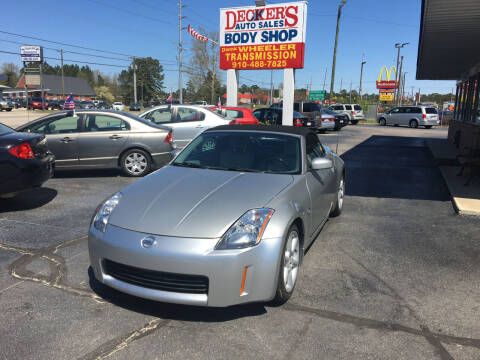 2004 Nissan 350Z for sale at Deckers Auto Sales Inc in Fayetteville NC