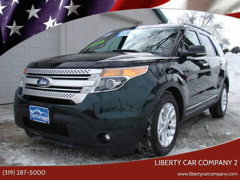 2013 Ford Explorer for sale at Liberty Car Company - II in Waterloo IA