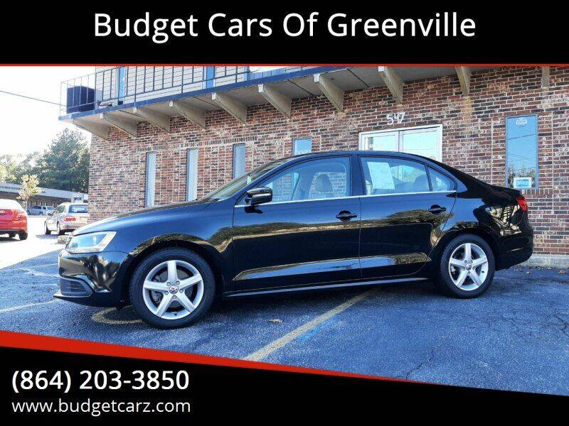 2014 Volkswagen Jetta for sale at Budget Cars Of Greenville in Greenville SC