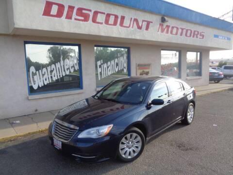 2014 Chrysler 200 for sale at Discount Motors in Pueblo CO