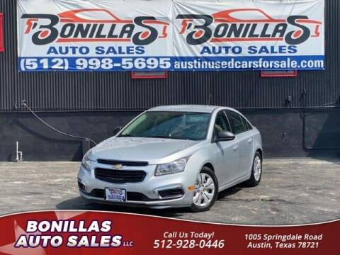 2016 Chevrolet Cruze Limited for sale at Bonillas Auto Sales in Austin TX