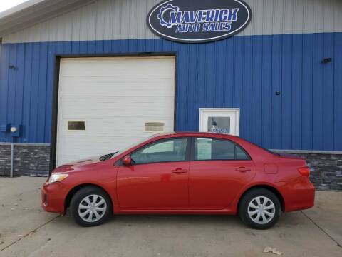 2011 Toyota Corolla for sale at Maverick Automotive in Arlington MN