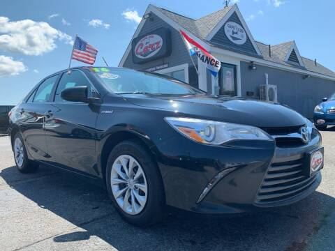 2016 Toyota Camry Hybrid for sale at Cape Cod Carz in Hyannis MA