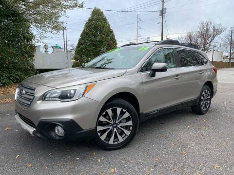 2015 Subaru Outback for sale at Seaport Auto Sales in Wilmington NC