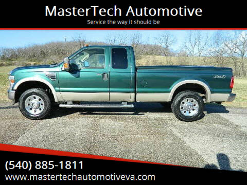 2009 Ford F-250 Super Duty for sale at MasterTech Automotive in Staunton VA