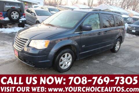 2008 Chrysler Town and Country for sale at Your Choice Autos in Posen IL