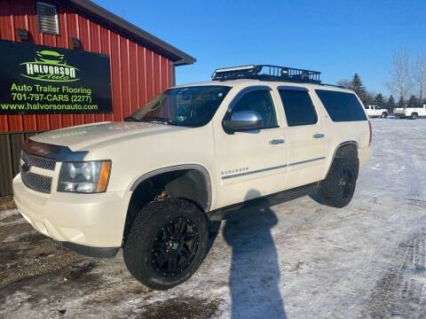 2014 Chevrolet Suburban for sale at HALVORSON AUTO in Cooperstown ND