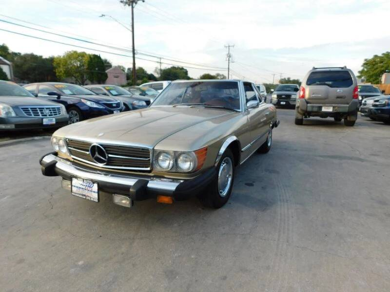1975 Mercedes-Benz 400 SERIES 450 SL - San Antonio TX