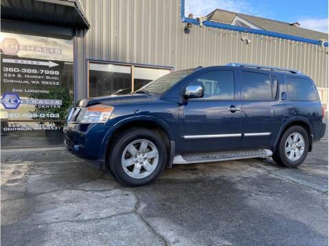 2011 Nissan Armada for sale at Chehalis Auto Center in Chehalis WA