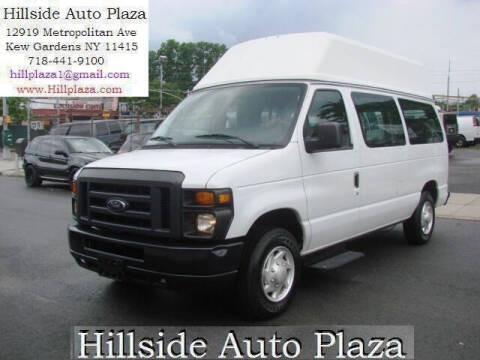 2013 Ford E-Series Wagon for sale at Hillside Auto Plaza in Kew Gardens NY