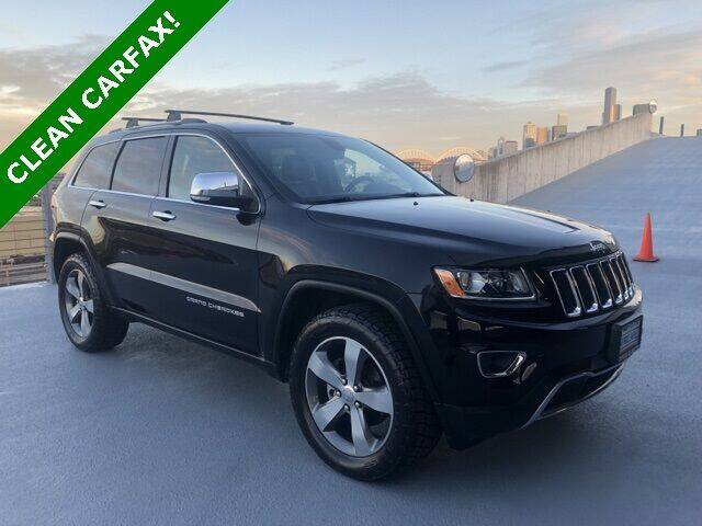 2015 Jeep Grand Cherokee for sale at Toyota of Seattle in Seattle WA
