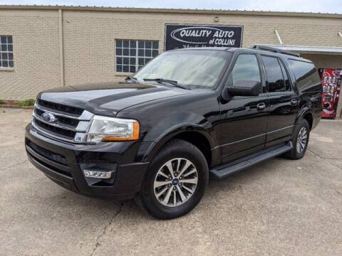 2017 Ford Expedition EL for sale at Quality Auto of Collins in Collins MS