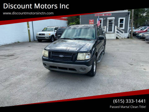 2003 Ford Explorer Sport Trac for sale at Discount Motors Inc in Nashville TN