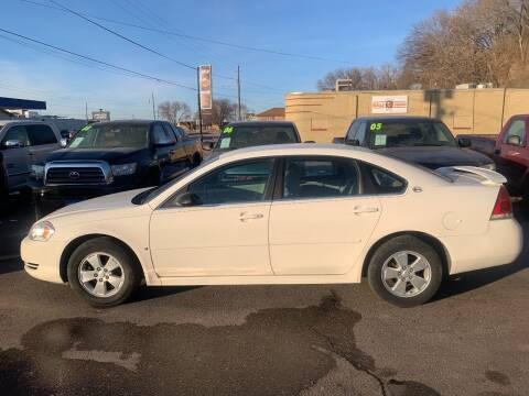 2009 Chevrolet Impala for sale at Iowa Auto Sales, Inc in Sioux City IA