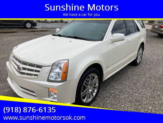 2008 Cadillac SRX for sale at Sunshine Motors in Bartlesville OK
