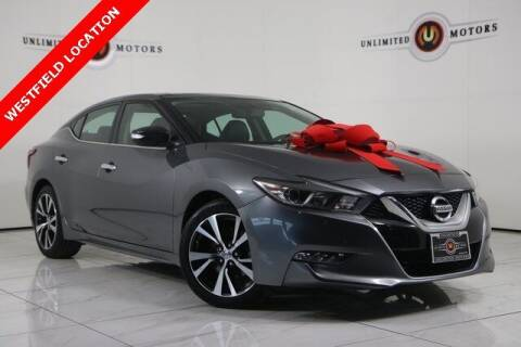 2016 Nissan Maxima for sale at INDY'S UNLIMITED MOTORS - UNLIMITED MOTORS in Westfield IN