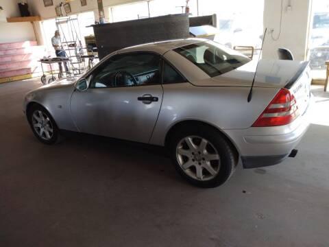 1999 Mercedes-Benz SLK for sale at PYRAMID MOTORS - Pueblo Lot in Pueblo CO