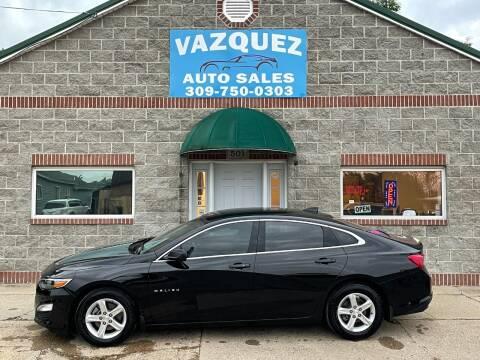 2019 Chevrolet Malibu for sale at VAZQUEZ AUTO SALES in Bloomington IL